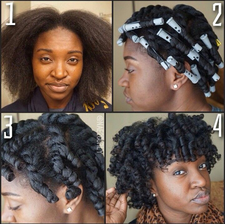 ♥Flat Twist & Curl on Blowout