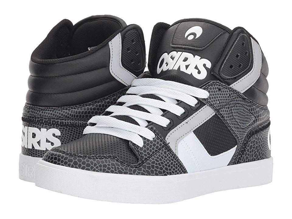 Osiris Clone Men's Skate Shoes BlackWhiteGator   Mens