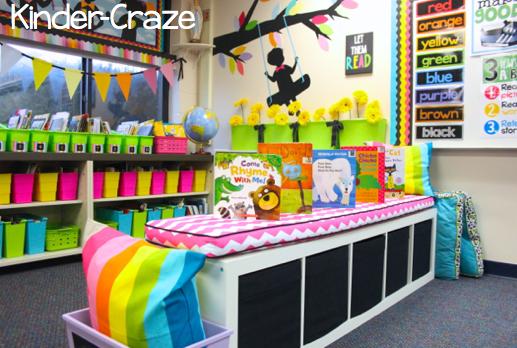 beautiful kindergarten classroom library