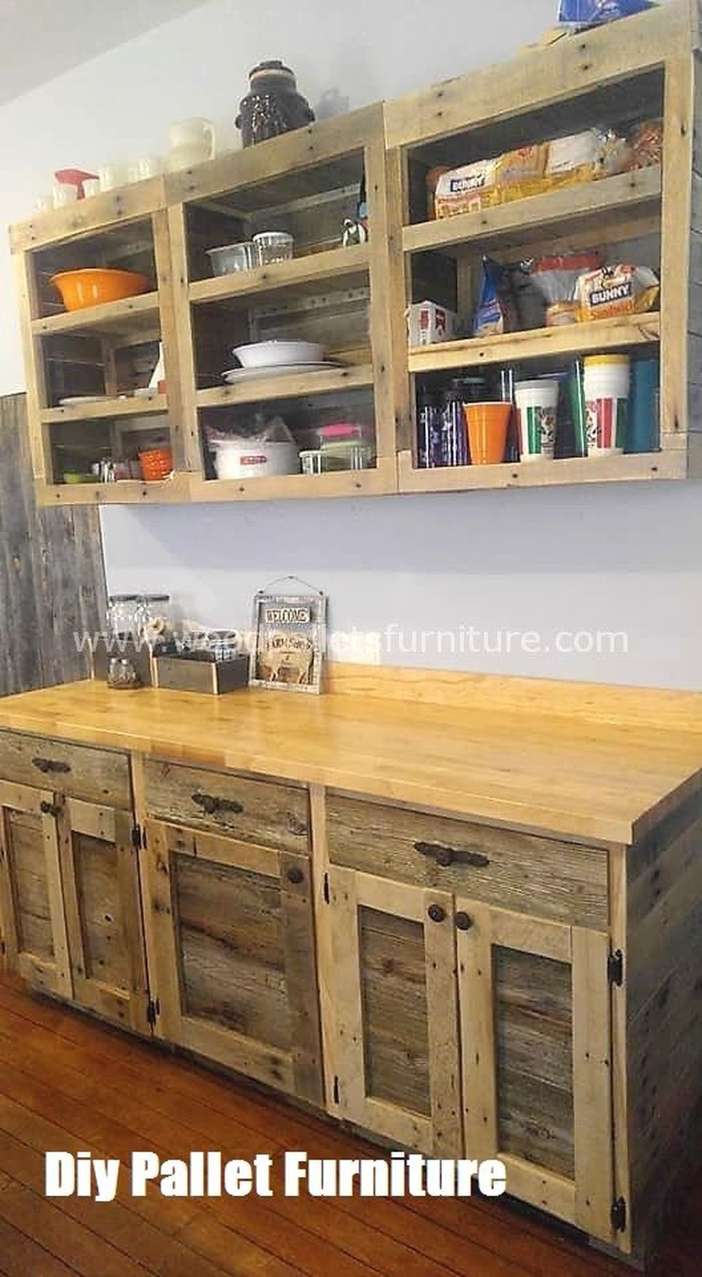 20 Chic Diy Projects Pallet Kitchen Design Ideas To Try In 2020