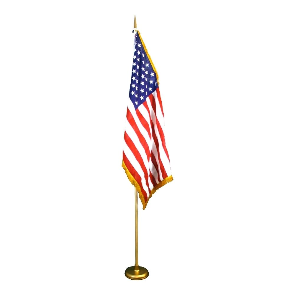 Economy U S Flag Kit Flagandbanner Com Cotton Flag Flag Indoor