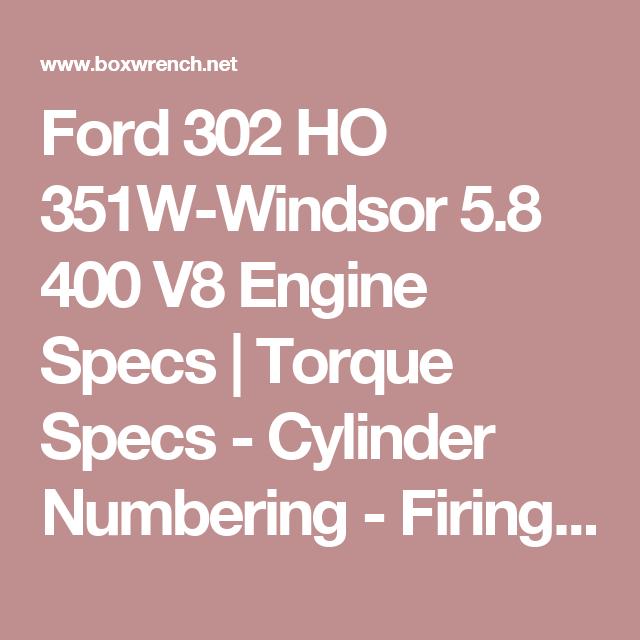 Engine Firing Ford Ranger 0 Liter Order 3