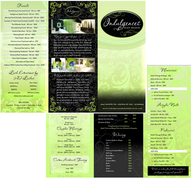 Beautiful Brochure Designs | Brochure Ideas -trifold and single ...