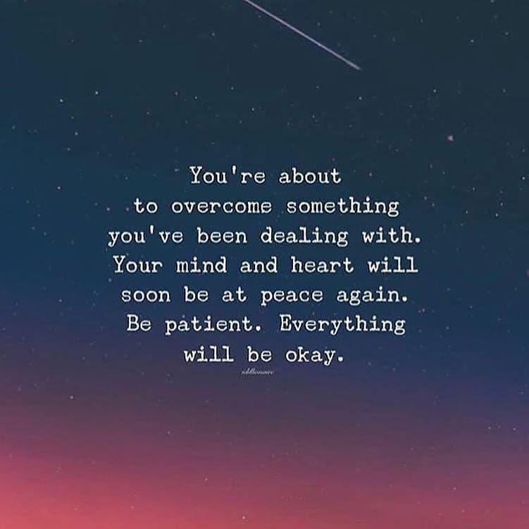 Inspirational Quotes Be Patient #patient #love #health ...