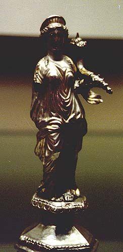 Fortuna - Goddess of good luck. / British Museum - London
