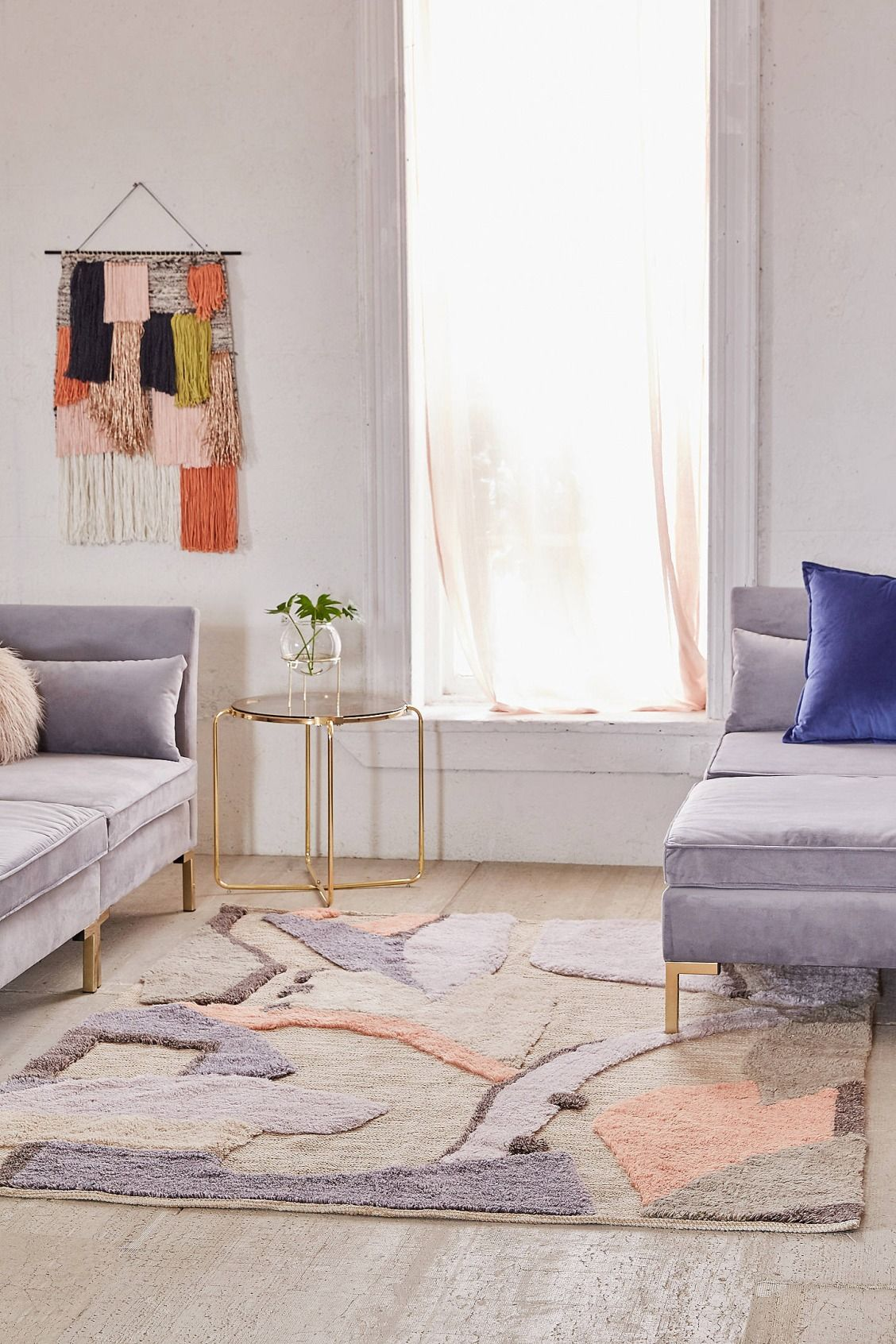Teppich Urban Outfitters Slide View 1 Johanna Modern Tufted Rug Uohome