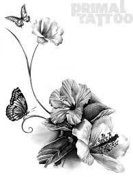 Resultado De Imagen Para Dibujos De Flores Para Tatuajes Proyectos