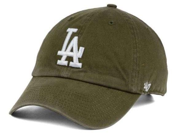 Olive Green La Baseball Hat Dodger Hats La Dodgers Hat 47 Brand