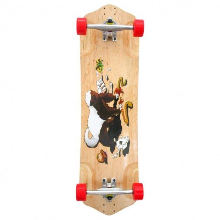 Psycho Honey Badger skateboard