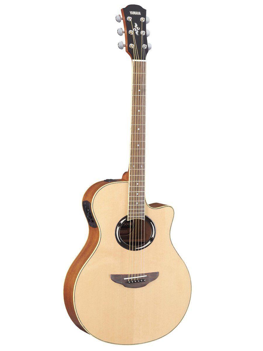 Yamaha Guitars Yamaha Apx500 Thinline Cutaway Acoustic Electric Guitar Natural Yamaha Acoustic Guitar Yamaha Guitar Guitar
