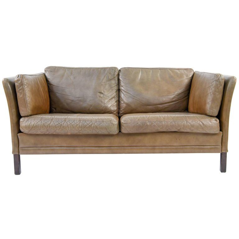 Magnificent Danish Leather Sofa By Mogens Hansen 1960S Dining Room Uwap Interior Chair Design Uwaporg