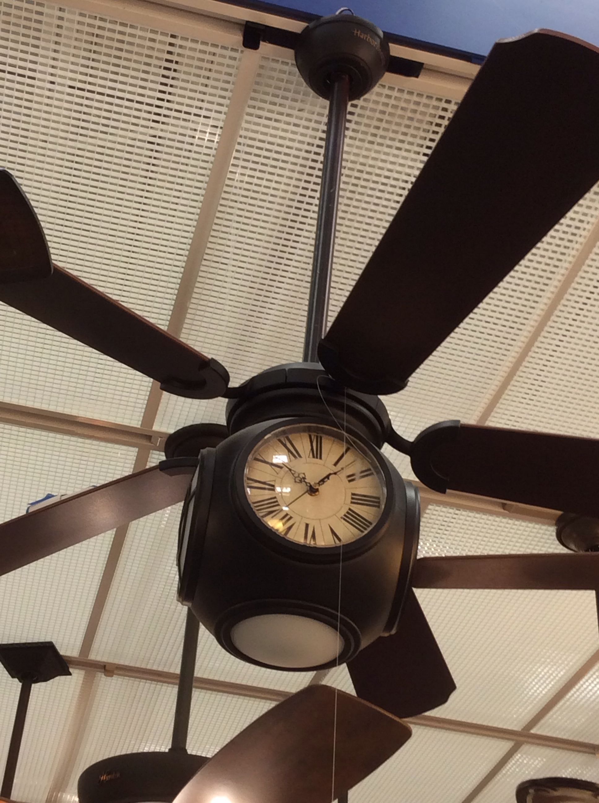 Steal Ceiling Fan In Flat White Finish W Flat White Blades By