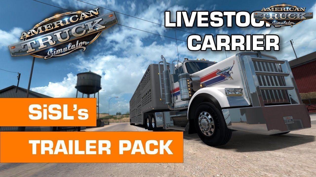 SiSL's Trailer Pack USA v1 2 (1 35 x) for ATS | American