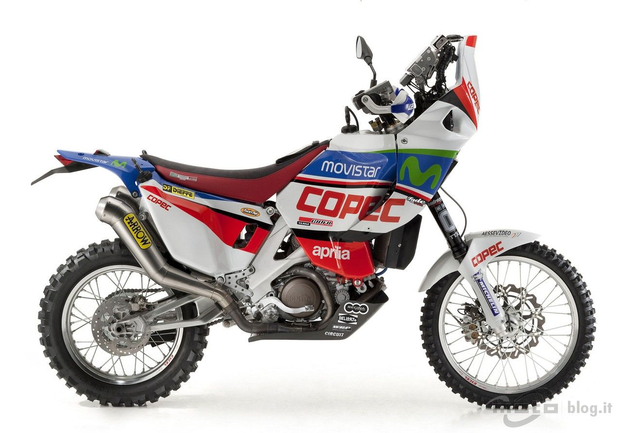 Aprilia RVX 450 motos ParisDakar Pinterest