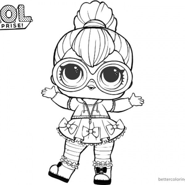lol surprise coloring pages neon qt | shopkins colouring