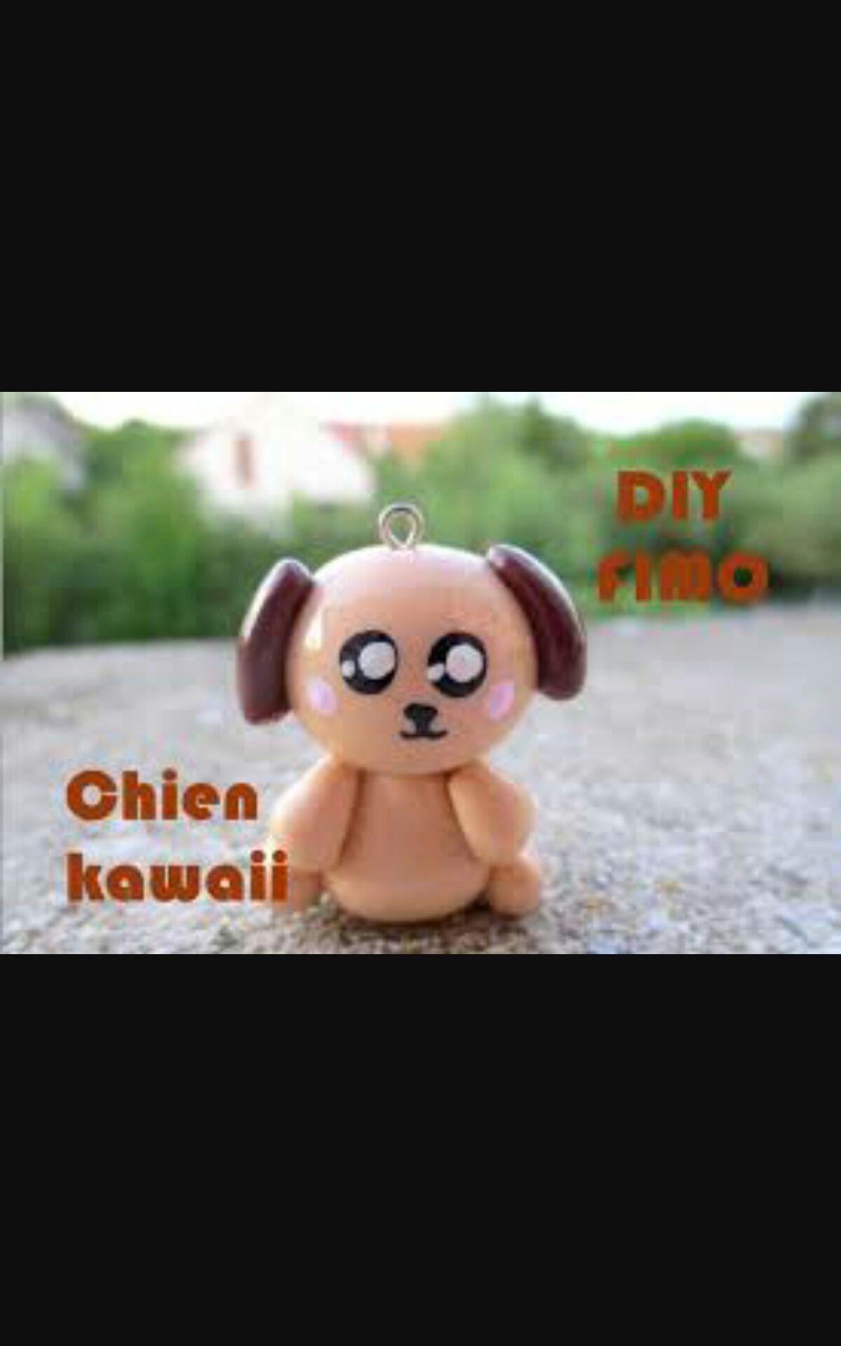 Chien kawaii