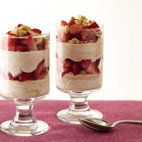 Strawberry–Peanut Butter Parfaits http://www.prevention.com/food/indulgent-dessert-recipes/slide/13