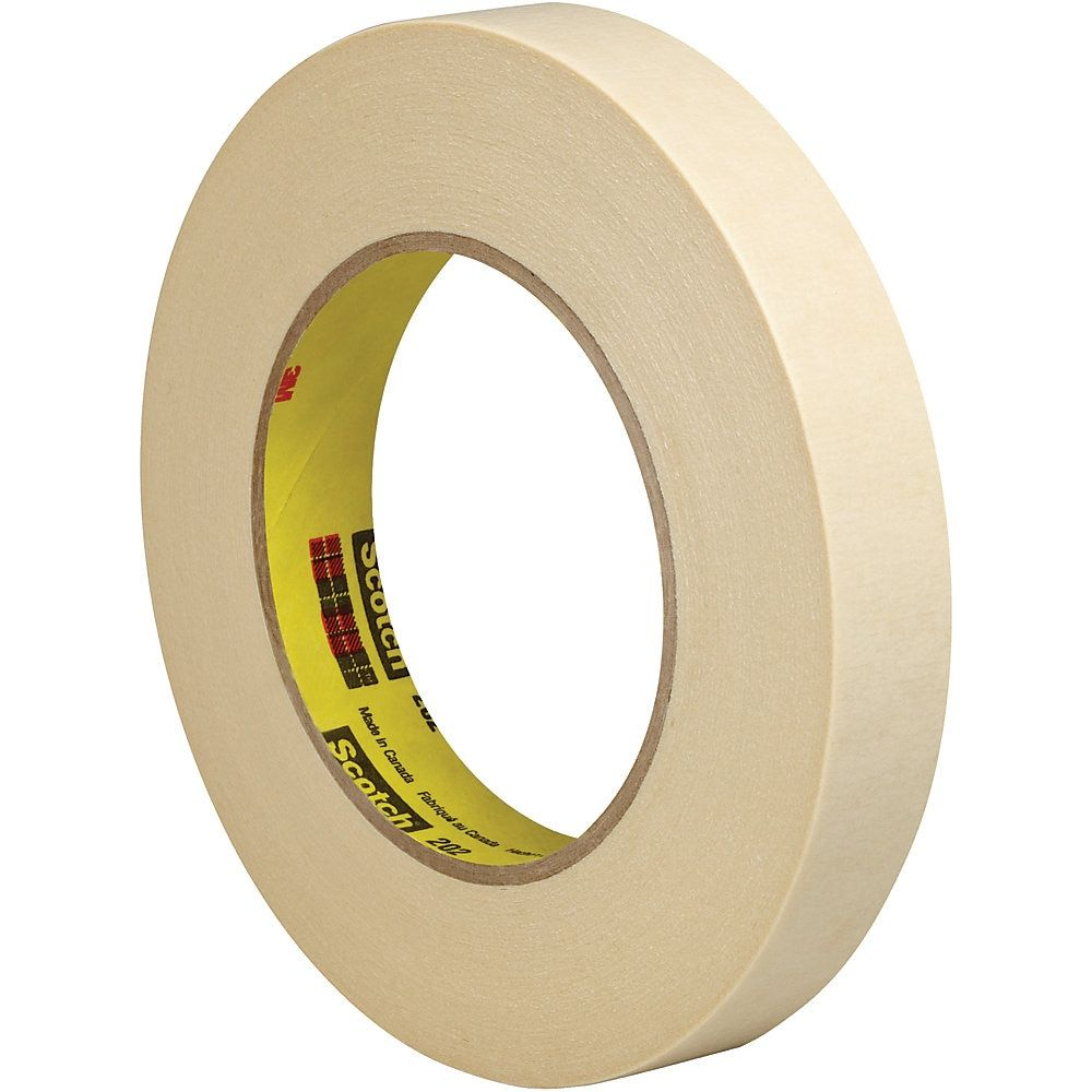 3m 202 Masking Tape 3 Core 0 75 X 180 Natural Pack Of 6 Item 620060 Masking Tape Basic Office Supplies Paint Line