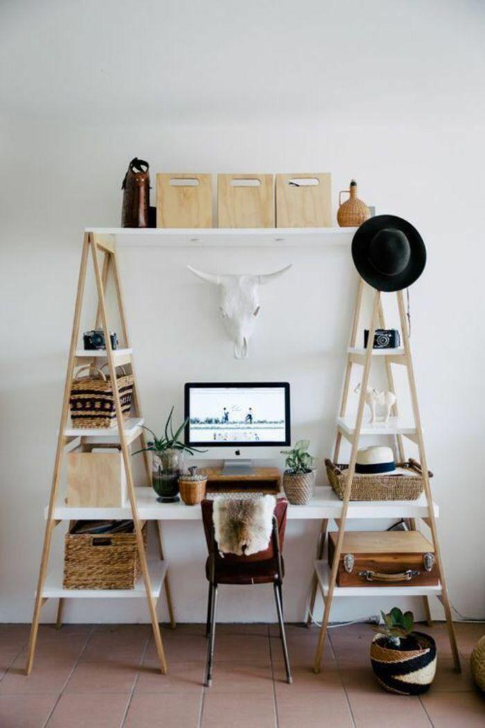 Büro schreibtisch selber bauen  DIY Projekt: Schreibtisch selber bauen - 25 inspirierende ...