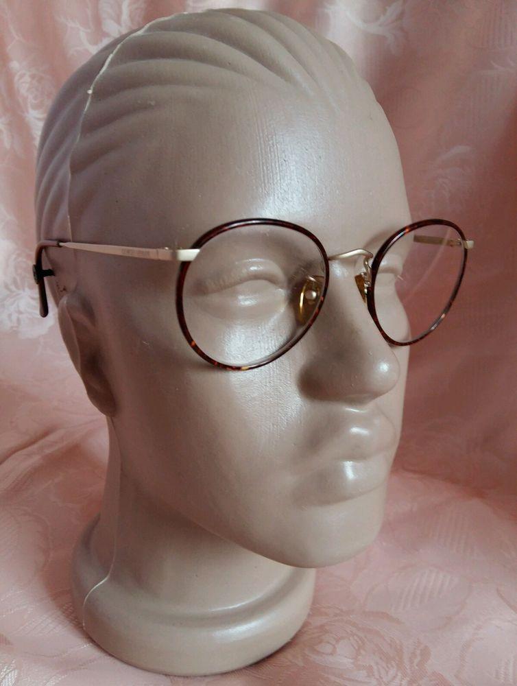 Giorgio Armani 145 713 Eyeglasses Italy Frame 49[]20 135 Round ...