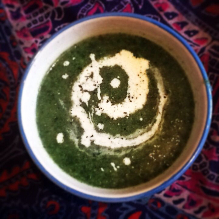Spinach Soup for the soul
