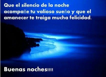 Felices sueños  !!