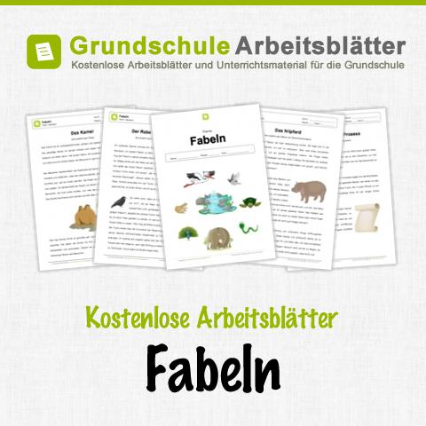 kostenlose arbeitsbl tter und unterrichtsmaterial f r den deutschunterricht zum thema fabeln in. Black Bedroom Furniture Sets. Home Design Ideas