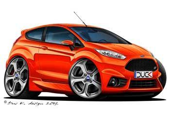 Gallery Category Ford Car Toons Vs Cartoons Art Cars Car