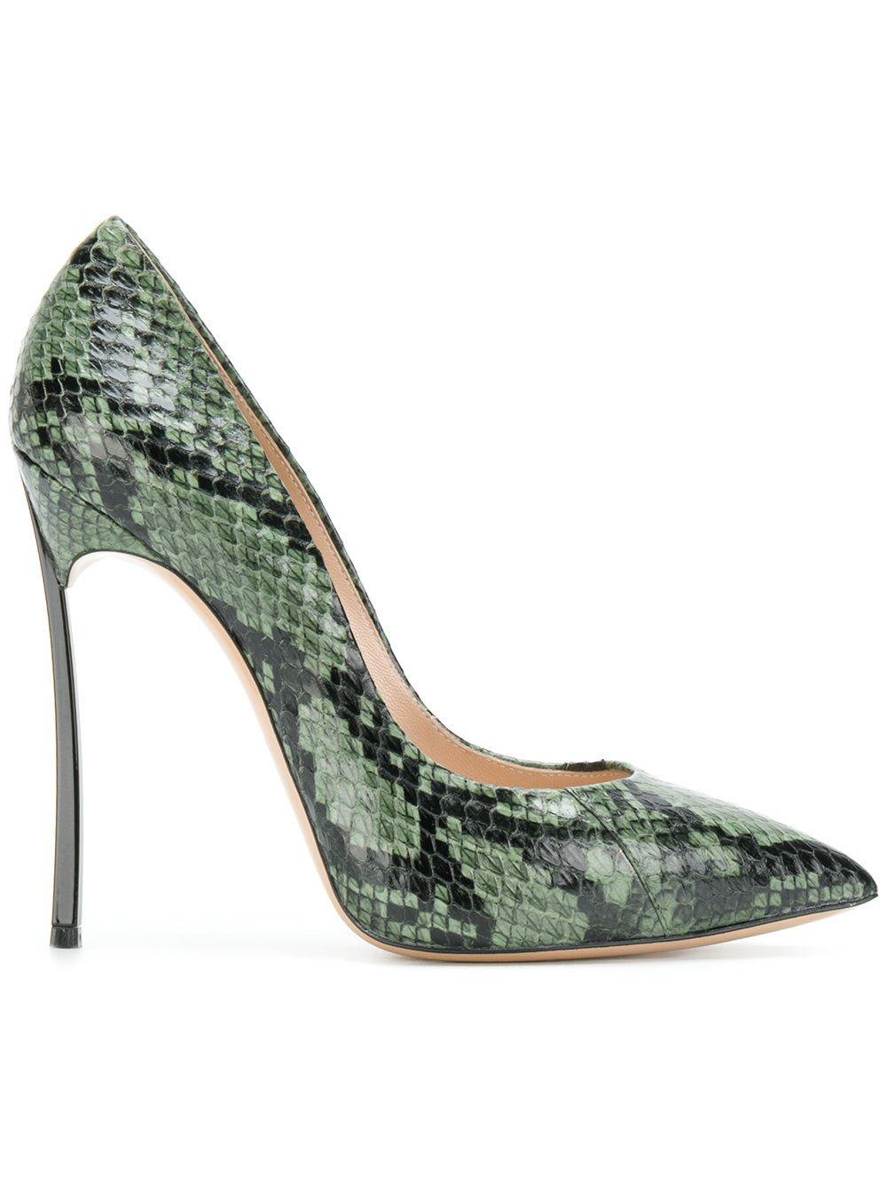 ad963836e7d CASADEI | Blade snakeskin pumps #Shoes #CASADEI | Fashion | Shoes ...
