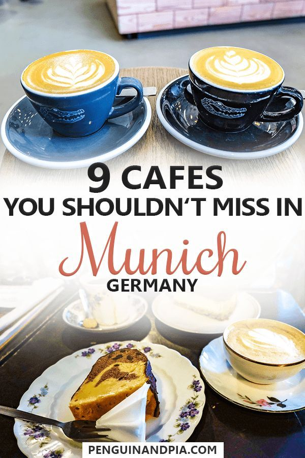 Great Cafes In Munich That You Must Visit