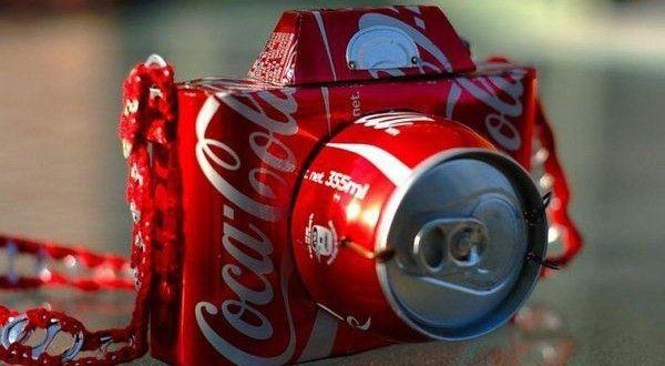 Ideias de Reciclagem com Latas de Refrigerante | Reciclagem no Meio Ambiente – O seu portal de artesanato com material reciclado