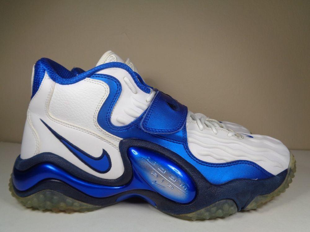 Mens Air Zoom Turf Jet 97 White Obsidian Basketball Shoes Size 12 Us 554989 101 Nike Basketballshoes Nike Nike Air Zoom Air Zoom
