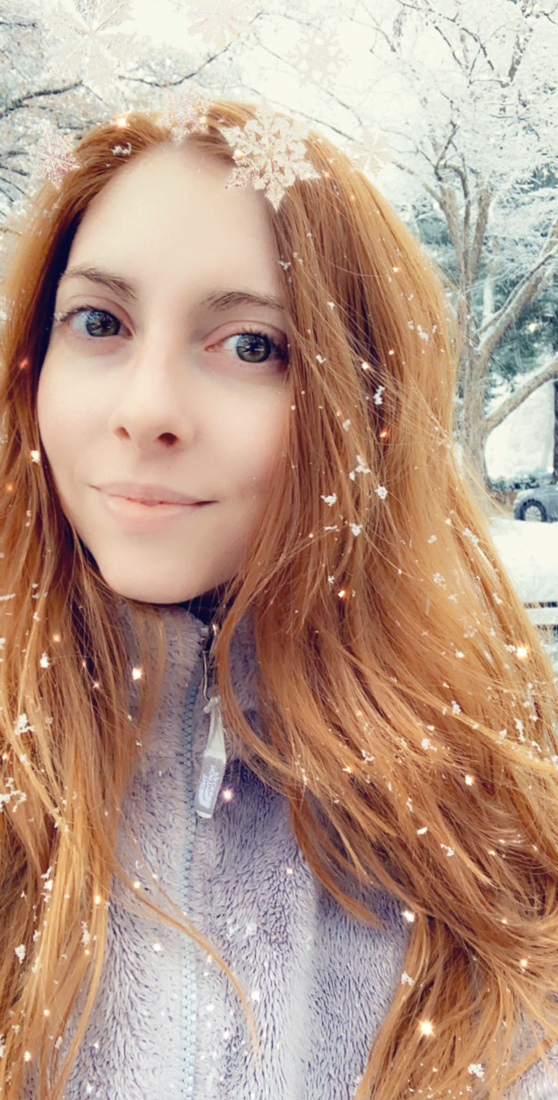 I love snow ❄️ #redhead #redhair | Me | I love snow, Red ...