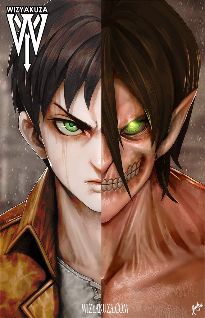 Beast/Slayer Split Attack on titan anime, Attack on