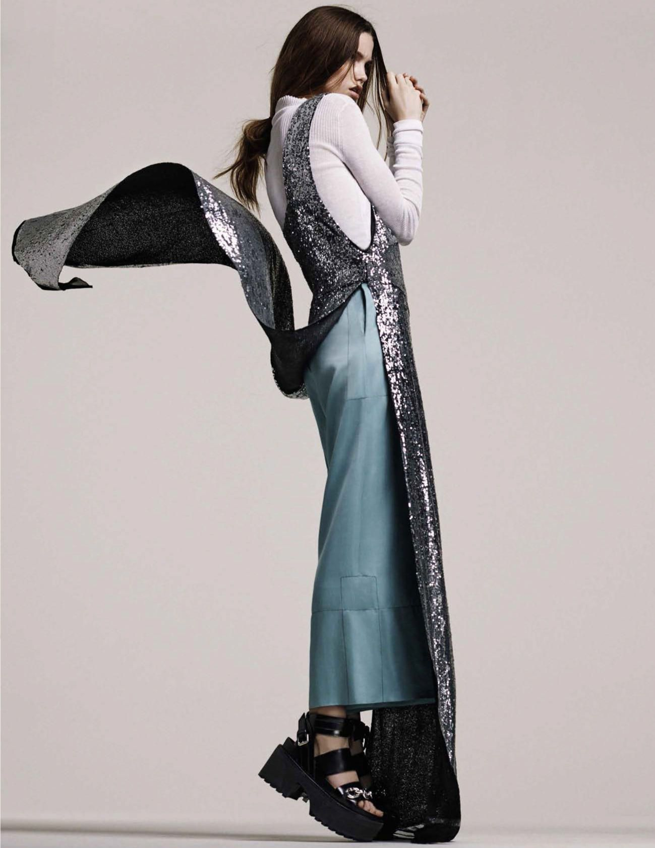 Luna Bijl by Steven Pan for Vogue Spain April 2016