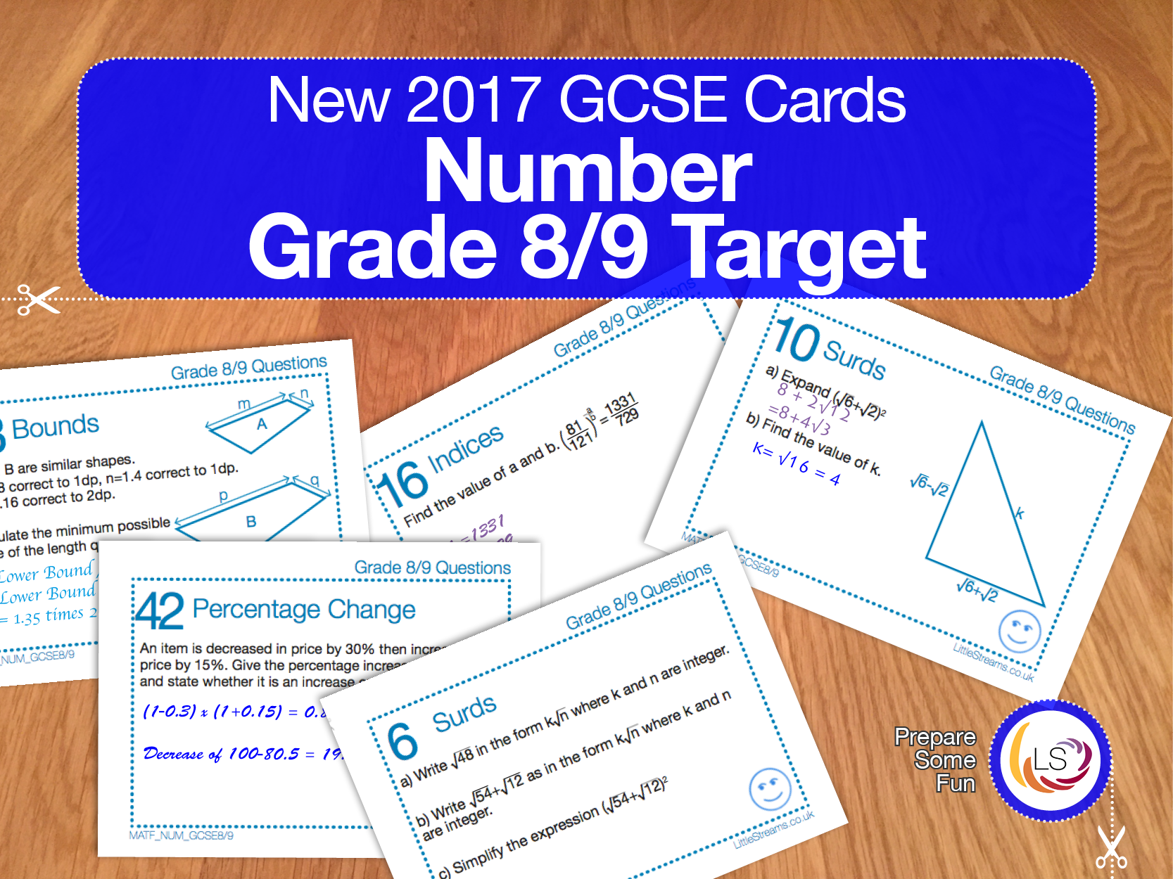 This Pack Contains 48 Exam Style Question Cards Covering
