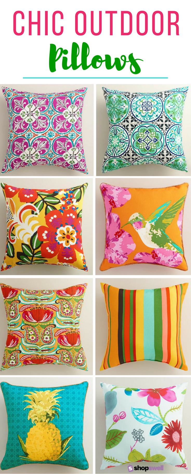 Chic Fabulous And Cheap Outdoor Pillows Shopswell Cheap