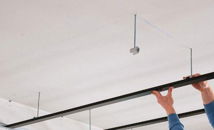 Choisir Et Monter Un Faux Plafond Faux Plafond Plafond Plafond Suspendu