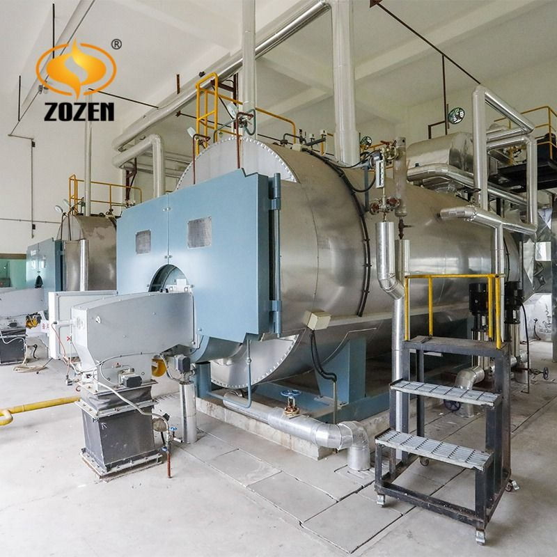 Fully Automatic Gas Fired Steam Boiler , 5 Ton Industrial