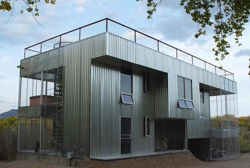 Simple Amazing All Metal House For Inspiration Hq Pictures
