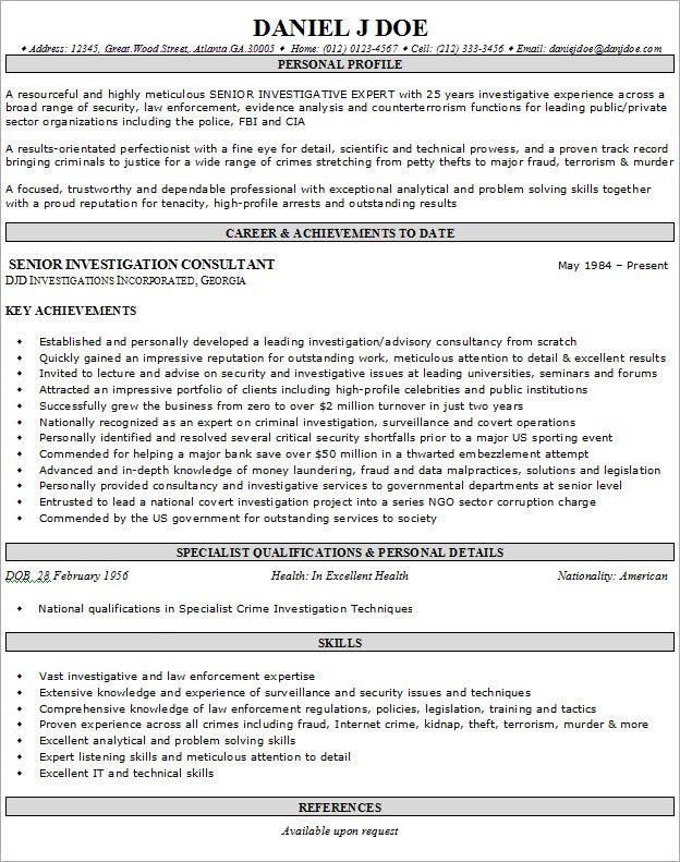 Resume Example For Job - http\/\/wwwresumecareerinfo\/resume - a resume example