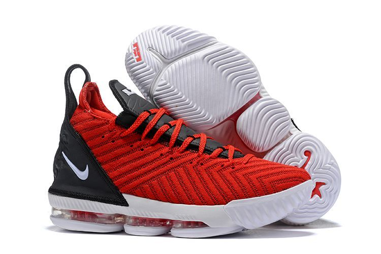 1042fd7219ed Check availability and buy the Nike LeBron 16 University Red online. Free  shipping on all latest Nike Lebron 16 Basketball Shoes.