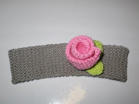 tuto tricot apprendre a faire un bandeau serre tete pour bebe au tricot tricots. Black Bedroom Furniture Sets. Home Design Ideas
