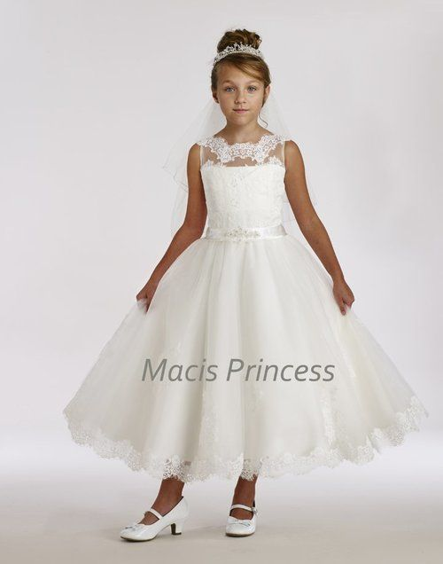 bda28ce622e Macis Couture Communion Dress T1851B is a show stopper dress that will  certainly create wonderful and lasting memories for you and your child.