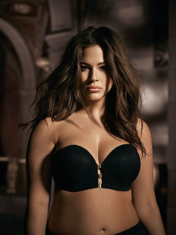 d1aff1508e3 Plus Size Model Ashley Graham Launching  50 Shades of Grey  Inspired Lingerie  Collection