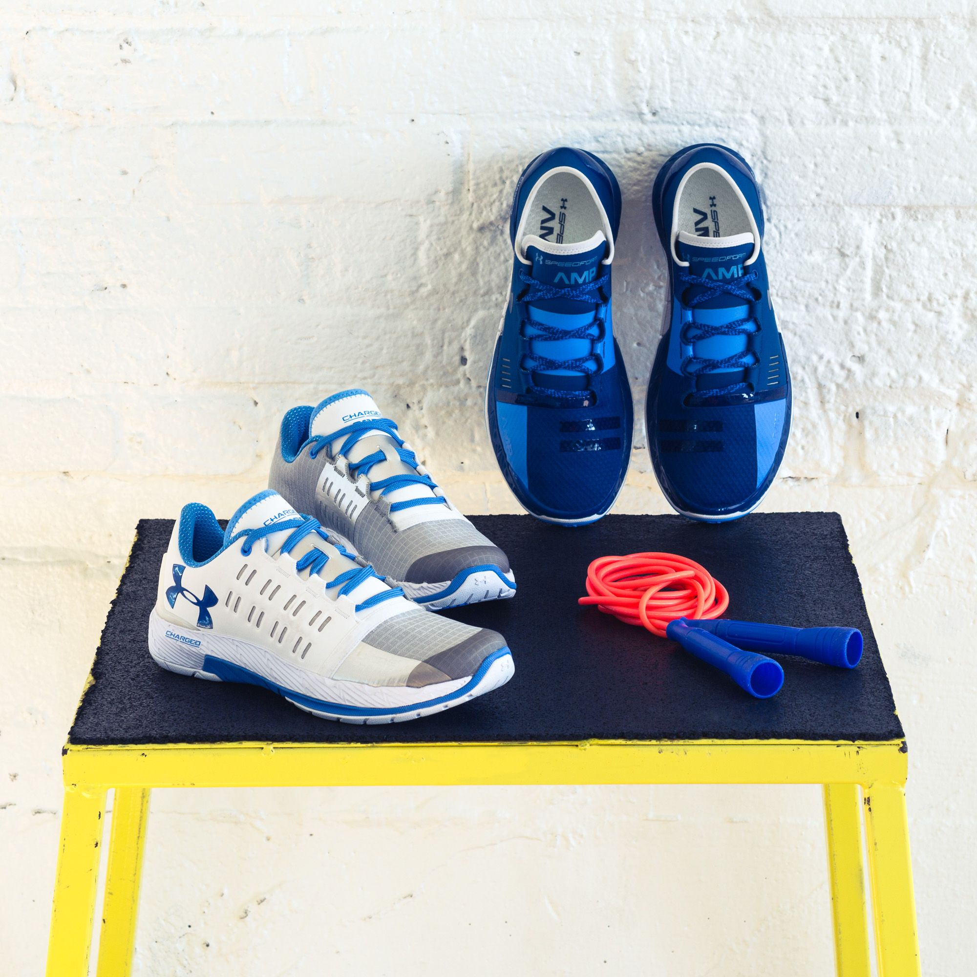 outlet store 4c05c 130f4 A sweat session awaits. The UA Charged Core and Speedform ...
