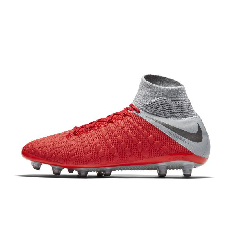 3f1b486f580aa Nike Hypervenom III Elite Dynamic Fit AG-PRO Artificial-Grass Football Boot  - Red