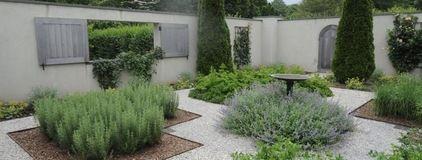 Ina Garten East Hampton Home ina garten's garden in the hamptons: this is a walled herb garden