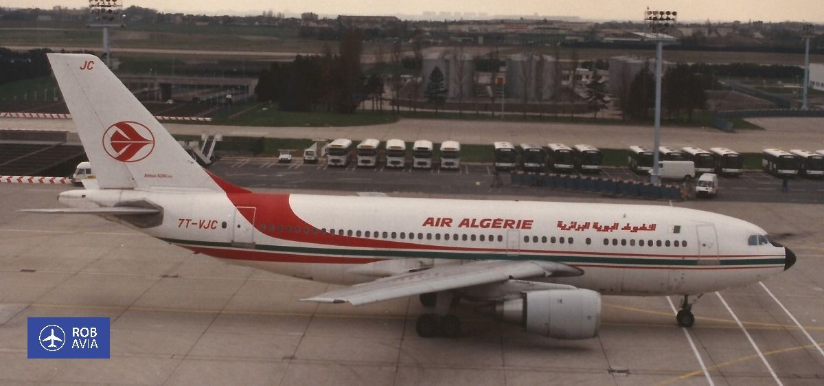 Air algerie airbus a310203 7tvjc paris orly ory lfpo