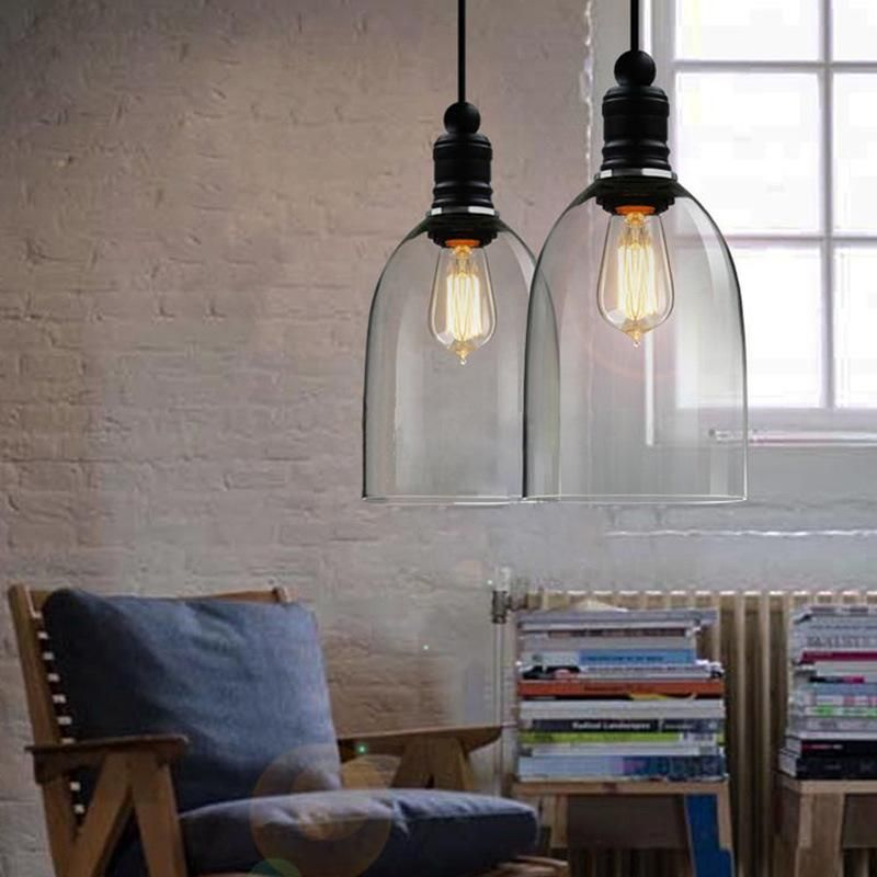 contemporary indoor lighting. Modern Vintage Crystal Bell Glass Pendant Lights Stairs Dining Room Bar Indoor  Contemporary Lighting Contemporary Indoor C